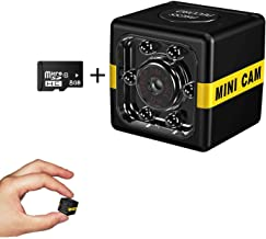 Cop Cam As Seen On TV Mini Spy Camera Wireless Hidden,1080P Surveillance Camera Action Camera, Convert Security Nanny Cam/...
