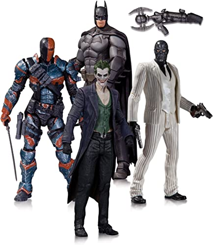 DC Comics Batman Arkham Origins Action Figure 4 Pack