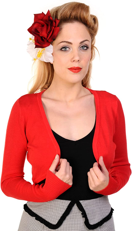 Dancing Days Womens Long Sleeve Light Knit Bolero Shrug Sweater Cardigan