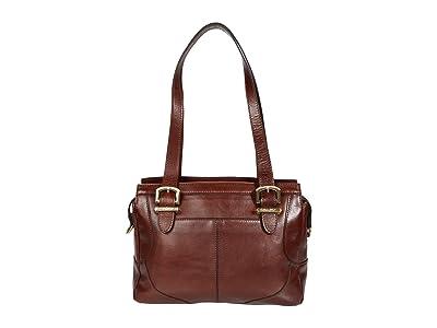 Patricia Nash Helmsley New Horse Shoe Satchel (British Tan) Handbags