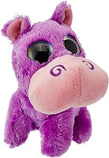 Wild Republic Hippo Wild Plush Toy - Grape, Multi-Colour, 13 cm