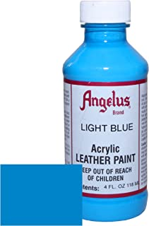 Angelus Acrylic Leather Paint-4oz.-Light Blue