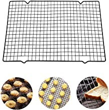 Nonstick Cake Cooling and Roasting Rack Cookies Biscuits Bread Drying Cooler Stand for Oven Roasting Baking Cooking Grilli...