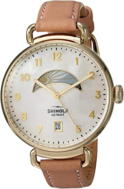 Blush Leather Strap/White Mother-of-Pearl Dial