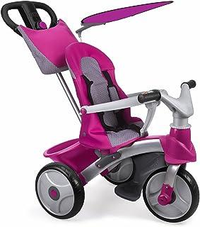 FEBER - Triciclo Baby Trike Easy Evolution, Color Rosa (