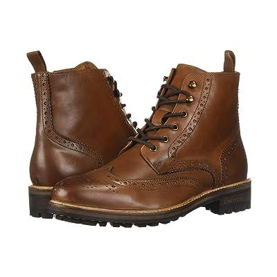 Kenneth Cole New York Maraq Lug Boot (Cognac) Men