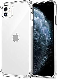 EasyAcc Funda para iPhone 11, Carcasa Delgada Transparente y Cristalina [Respaldo Rígido de PC] [Marco de TPU Suave] [Anti-Amarillo] Funda Protectora para iPhone 11