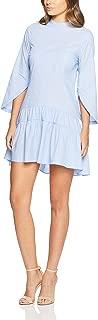 Oxford Women Miles Cotton Shirt Dress, Blue