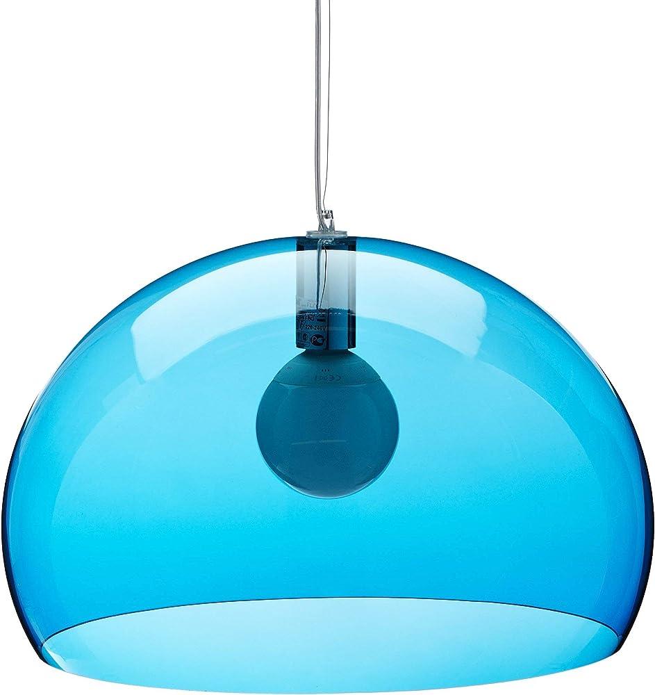 kartell fl/y lampada alluminio energy saving madreperla 9030k1
