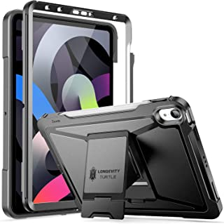 ZtotopCase for New iPad 10.9 Inch/iPad Air 4th Gen Case (2020 ONLY), Built-in Screen Protector, Dual Layer Shockproof Full...