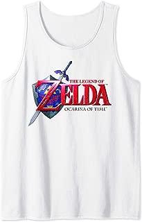 Legend of Zelda Ocarina of Time Classic Logo Tank Top