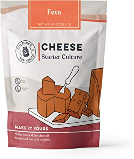 Feta Cheese Starter Culture | Cultures for Health | Tangy, delicious homemade cheese, no maintenance, non-GMO