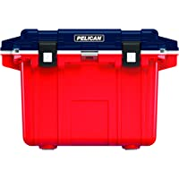 Pelican 50QT Elite Cooler (Red/ White/Blue)