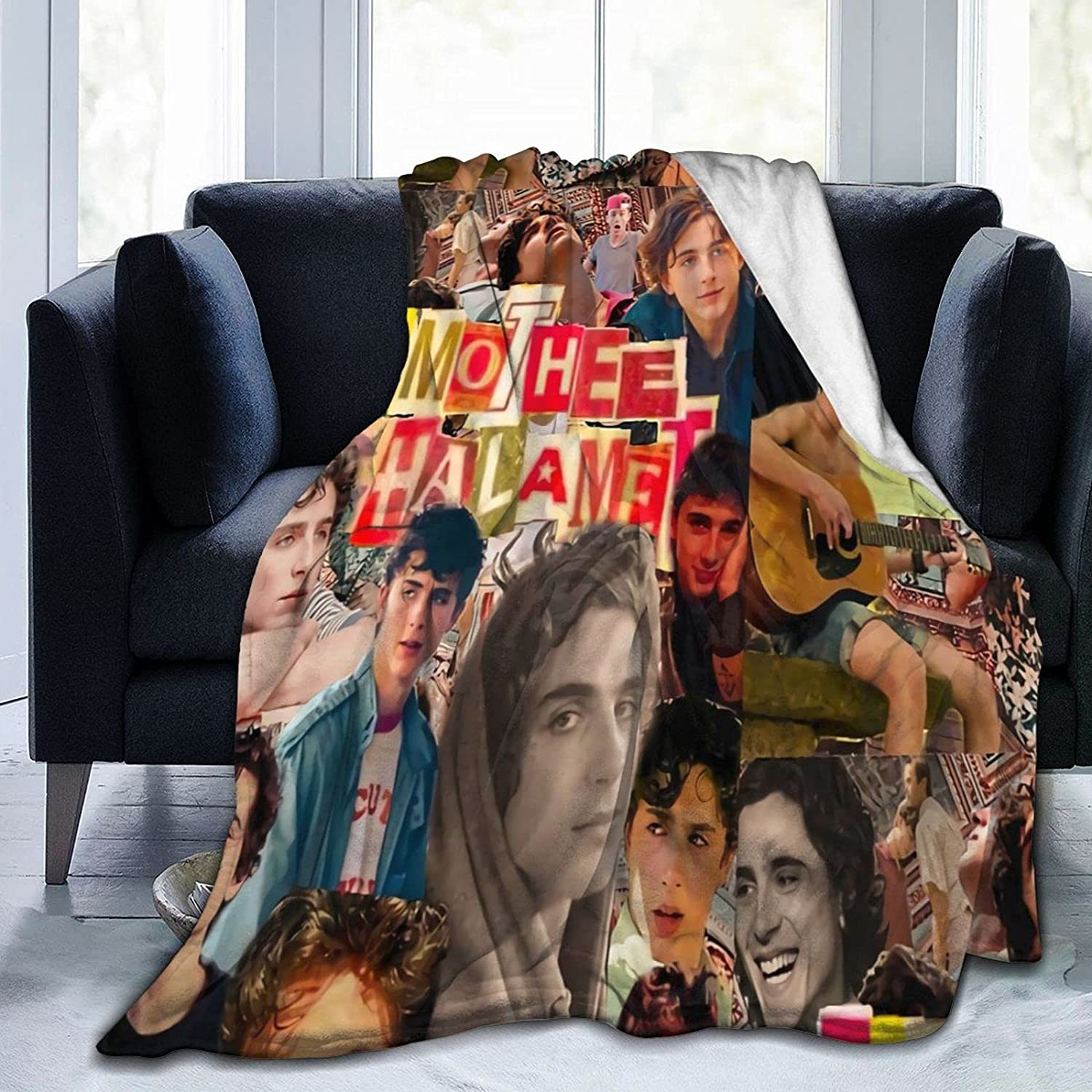 Max 47% Easy-to-use OFF Timothee Chalamet Soft and Comfortable Throw Beach Blanket Warm