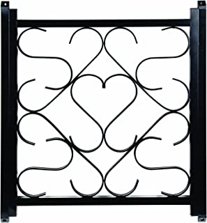 Camco 43993 Deluxe Screen Door Grille-Black