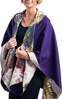 WarmCaper - Warm Rain Poncho for Women with Hood - Soft & Rainproof (Choose Your Color)