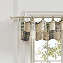 Greenland Home Oxford Valance, Plaid