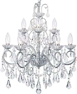 Litecraft Our stunning Marie Therese 9 Light Chandelier