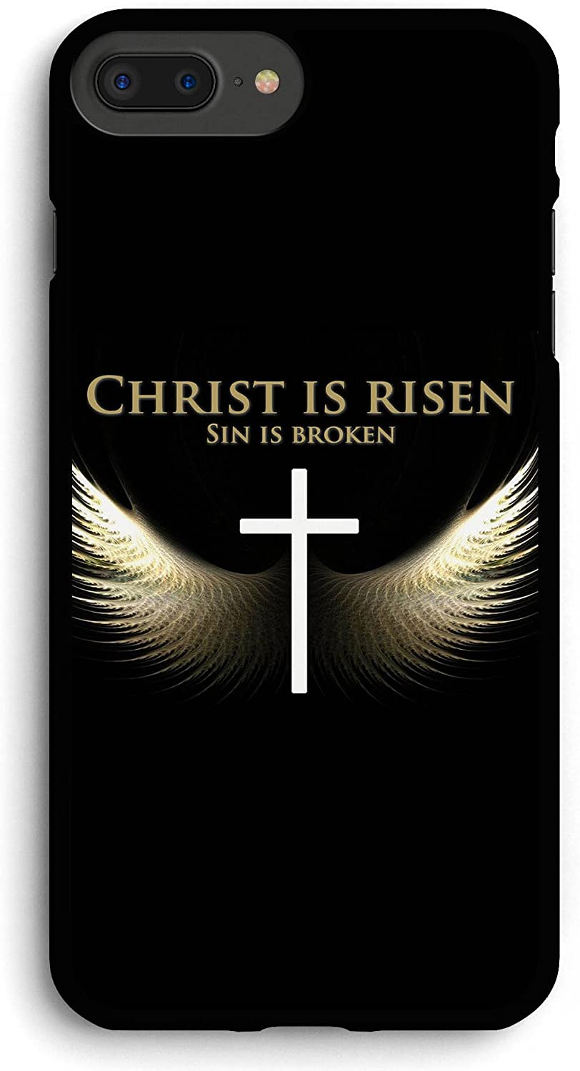 Angel Wings and Cross iPhone 7PLUS /8 Plus Case,PC Hard Case for iPhone 7PLUS /8 Plus