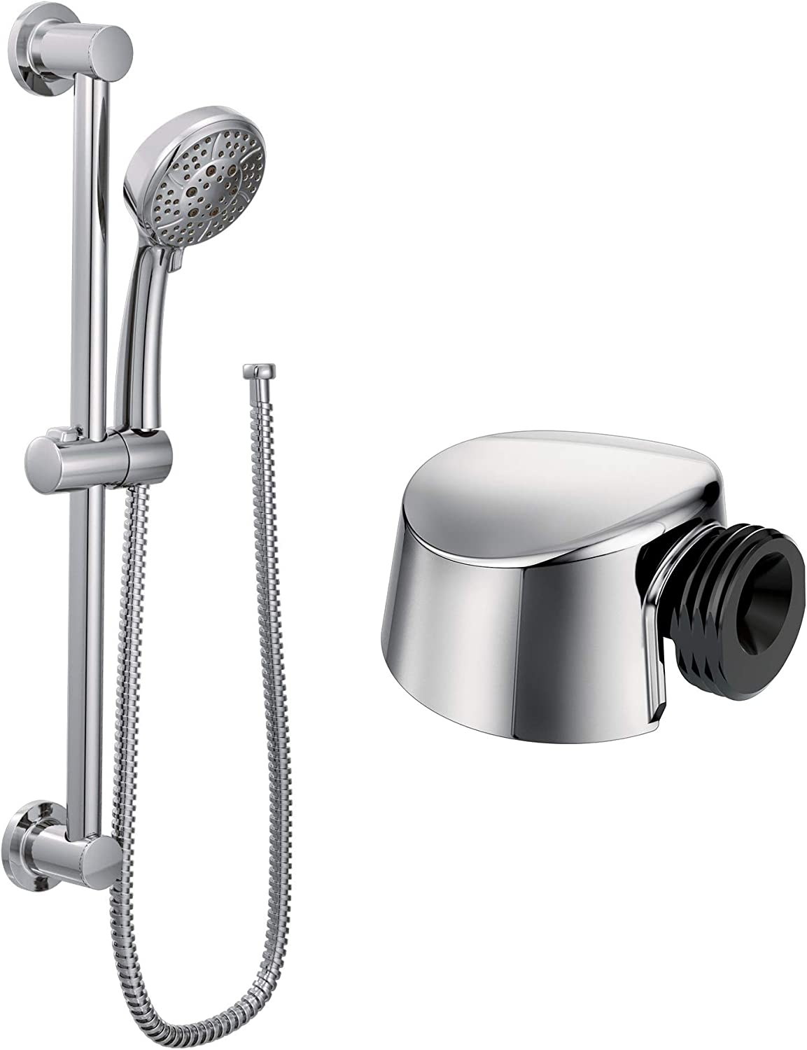 Moen A725Drop 4 years warranty Ell for Handheld N Showerhead Classic Brushed Save money