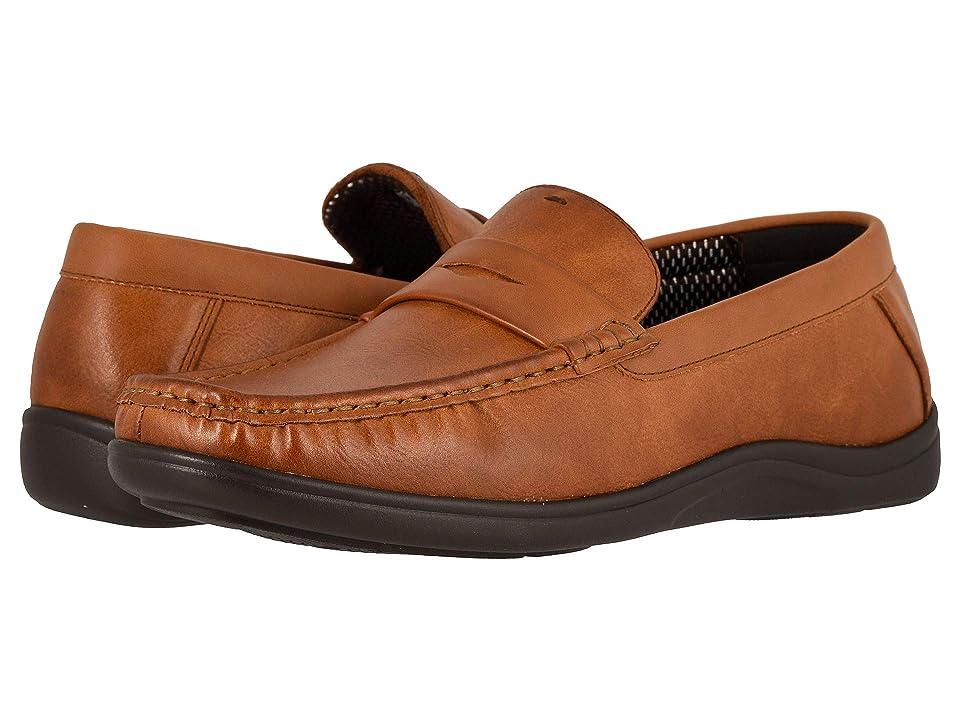 Nunn Bush Brentwood Moc Toe Penny Slip-On (Cognac) Men