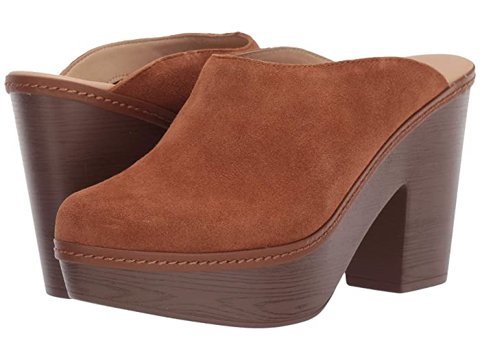 70s Shoes, Platforms, Boots, Heels Chinese Laundry Florina Aged Cognac Suede Womens Shoes $57.75 AT vintagedancer.com