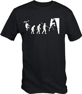 6TN Hombre Evolución de la Escalada Camiseta