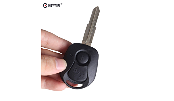 2 Buttons Remote Key Shell For Ssangyong Actyon Kyron Rexton Uncut Blade Key Fob Cover Case Replacement Buy Online At Best Price In Uae Amazon Ae