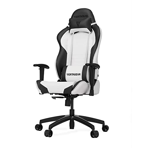 Vertagear S-Line SL2000 Racing Series Gaming Chair - White/Black (Rev.