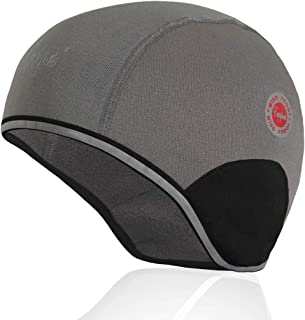 Sponsored Ad - Ears Protection Thermal Helmet Liner Winter Reflective Cycling Skull Cap Warm Skiing Beanie Windproof