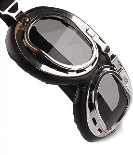 <h2>Butterme Motorrad Schutzbrille RAF Aviator Vintage Pilot Biker Cruiser Pilot Fliegerbrille Motocross Cruisers Windproof Sun UV Wind Eye Protect Helmmaske Eyewear Sport Schutzbrille</h2>