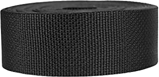Strapworks Lightweight Polypropylene Webbing - Poly Strapping for Outdoor DIY Gear Repair, Pet Collars, Crafts – 1 Inch by...