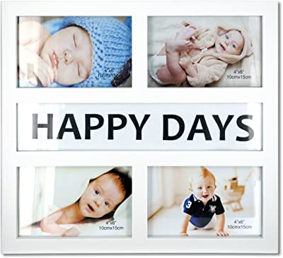 StealStreet SS-KI-OS265 Happy Days Collage Photo Frame