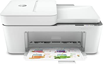 $114 » HP DeskJet Plus 4155 Wireless All-in-One Printer | Mobile Print, Scan & Copy | HP Instant Ink Ready | Auto Document Feeder...