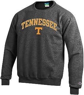 NCAA Men's Crewneck Charcoal Sweatshirt Arch