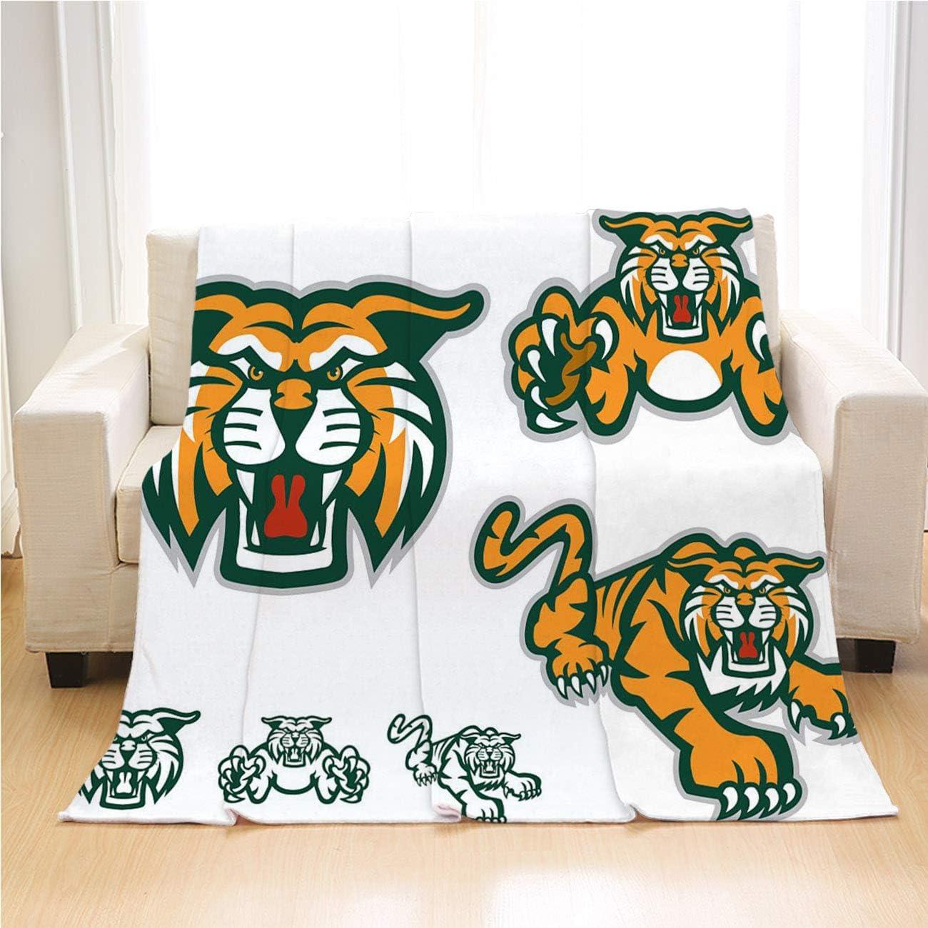 Tiger 日本 Blanket Luxury 本物◆ Super Soft A Versions Six Throw of