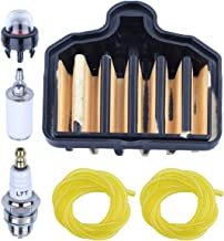 Adefol Air Filter Kit for Poulan Pro PP5020AV 575296301 Chainsaw Replacement Parts with Fuel Filter, Primer Bulb, Spark Plug, Fuel Line Accessories