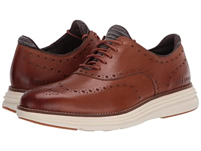 Cole Haan Original Grand Ultra Wing Ox (CH British Tan Leather/Ivory) Men