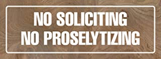 Best no proselytizing sign Reviews