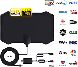 Newest 2020 Antena de TV, Antena Interior HDTV con