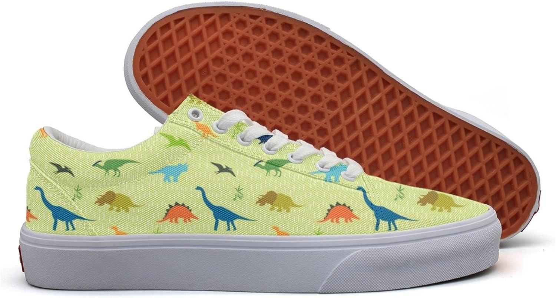 Dinosaur Party Favors Women's Casual shoes Flat Slip Low Top Simple