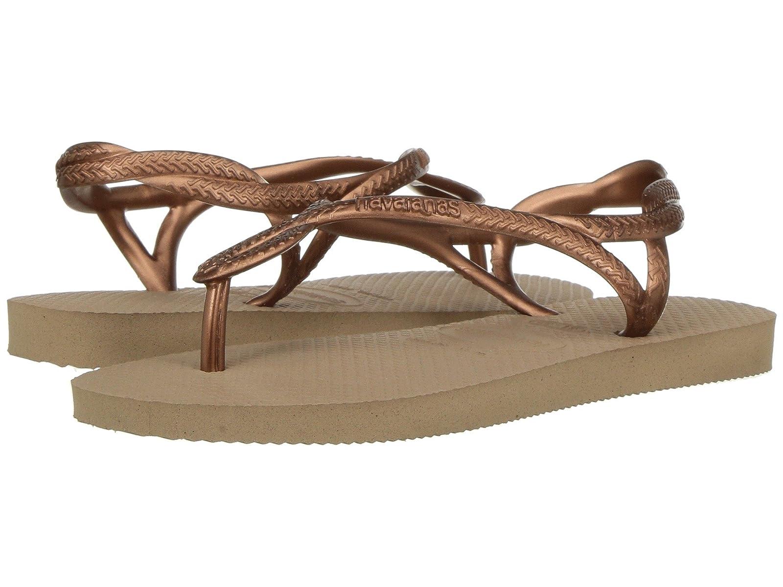 Havaianas Kids Luna Sandals (Little Kid/Big Kid)Atmospheric grades have affordable shoes