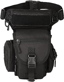 Exterior táctico Impermeable Pierna Bolsa Banana para Deporte Caminata Camping Militar Bolsa Molle cinturón Bolsa Moto para