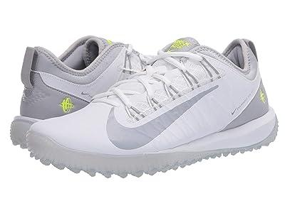 Nike Alpha Huarache 7 Pro Turf Lax (White/Wolf Grey) Men