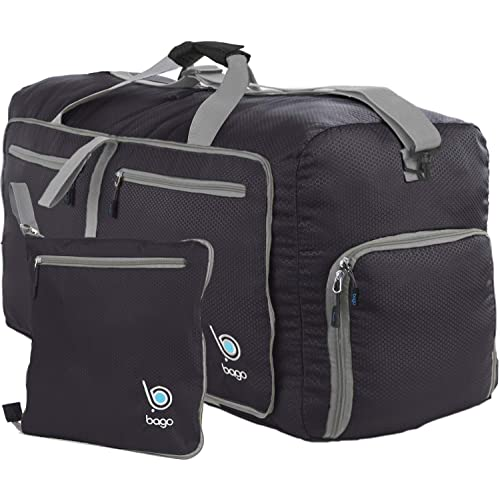 b0525d30ca Bago Duffle Bag for Travel Luggage Gym Sport Camping - Lightweight Foldable  Into Itself Duffel (