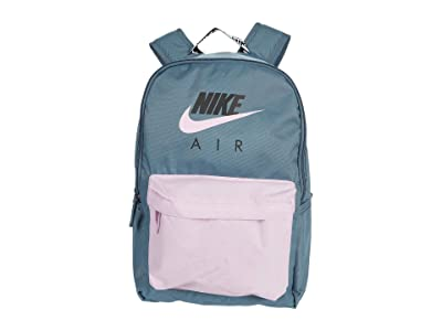Nike Air Heritage Backpack (Ozone Blue/Light Arctic Pink/Light Arctic Pink) Backpack Bags
