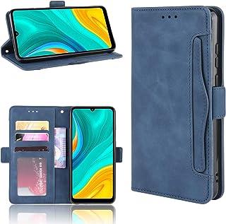 LODROC Lederen Wallet Case voor Huawei Enjoy 10E, [Kickstand Feature] Luxe PU Lederen Portemonnee Case Flip Folio Cover me...