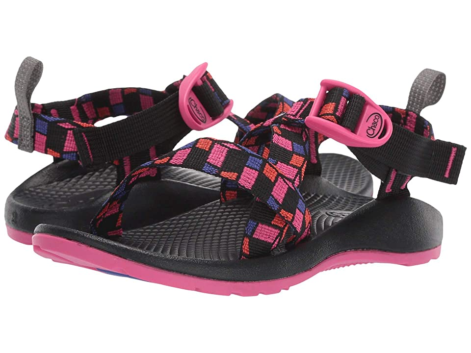 Chaco Kids Z/1 Ecotread (Toddler/Little Kid/Big Kid) (Cubit Magenta) Girls Shoes