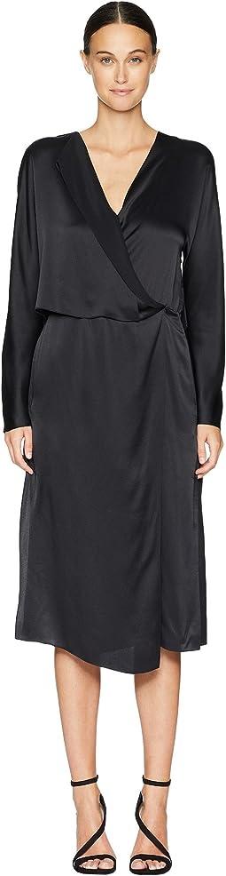 Drape Panel Dress