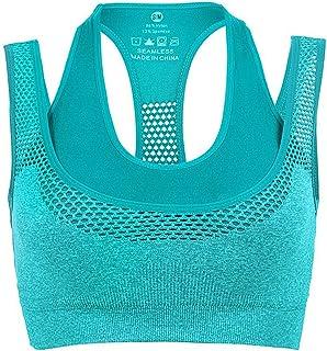 Confezione di 3 un comfort senza soluzione di continuità Reggiseno Sports Style Crop Top Gilet Shapewear Stretch